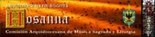 Música Litúrgica Hosanna Cantos litúrgicos en partituras jpg